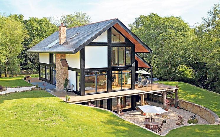 Caratteristiche della casa naturale costruire una casa - Aerazione naturale della casa ...