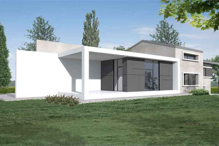 Caratteristiche della casa unifamiliare costruire una for Tempo per costruire una casa