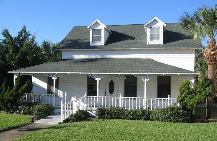 Una villa appartenente alla categoria delle case unifamiliari
