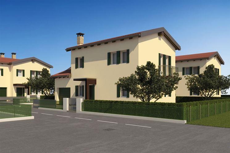 Caratteristiche della casa unifamiliare costruire una for Opzioni esterne della casa