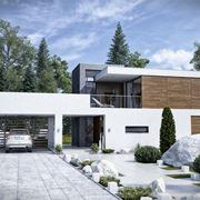 Esempio di casa in legno antisismica