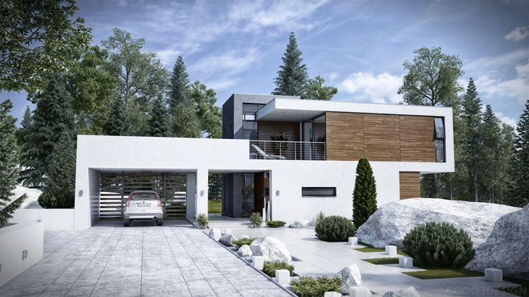 Caratteristiche delle case moderne costruire una casa for Case moderne