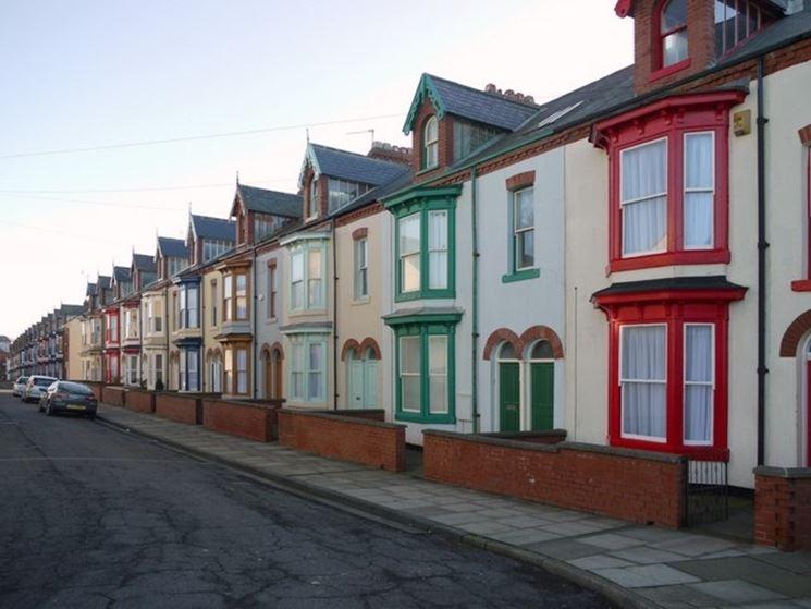 Case a schiera costruire una casa perch scegliere le for Case inglesi foto