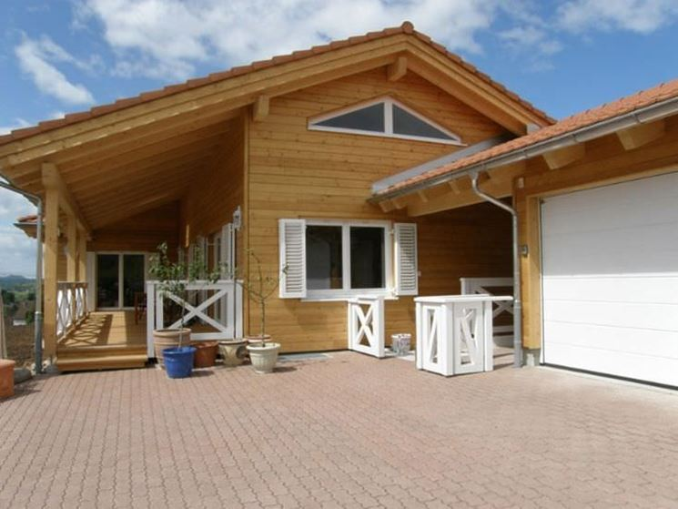 Casa attiva in legno