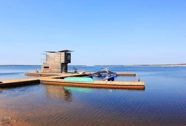 piattaforma per casa galleggiante di Clement Germany GmbH