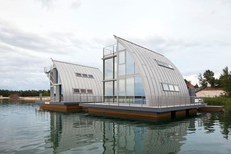 Case galleggianti costruire una casa progettare case for I costruttori costano per costruire una casa