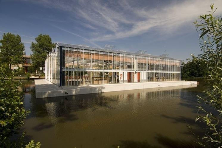 casa galleggiante di Dura Veermer
