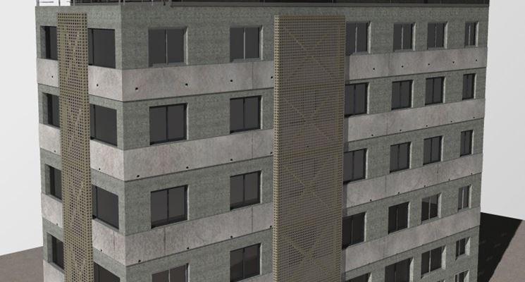 Un modello di edificio antisismico
