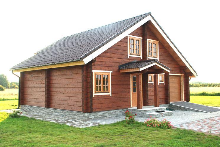 Una casa antisismica in legno