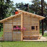 piccola casa in pallet