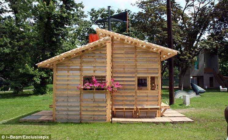 come costruire la casa in pallet costruire una casa
