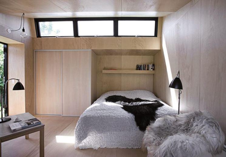 camera in mini appartamento