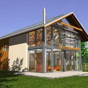 casa ecologica di grandi dimensioni