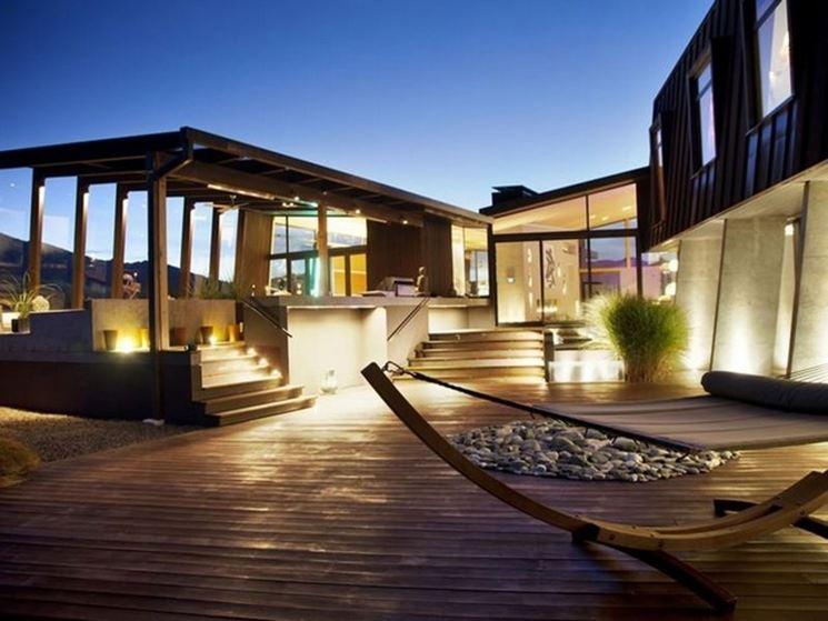 Una struttura particolare per una casa particolare
