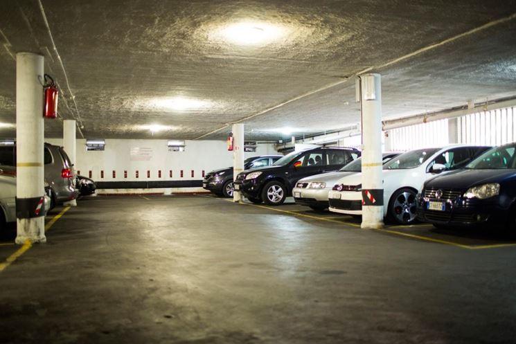 Parcheggio condominiale coperto
