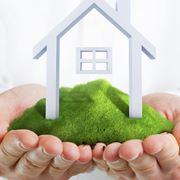 Logo di biosotenibilit� edile