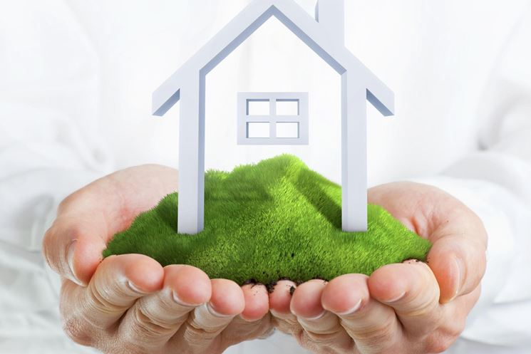 Logo di biosotenibilità edile
