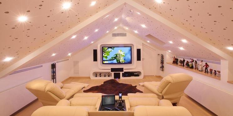 Realizzare una mansarda adattabile costruire una casa - Costruire palestra in casa ...