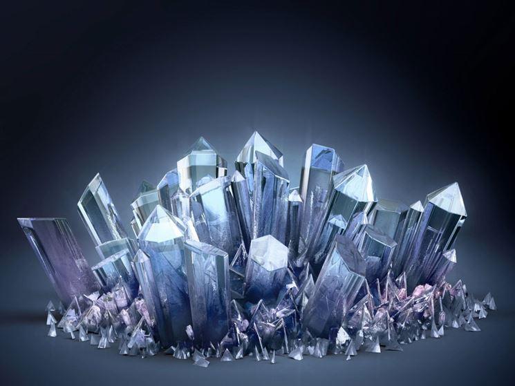 Il cristallo trasparente