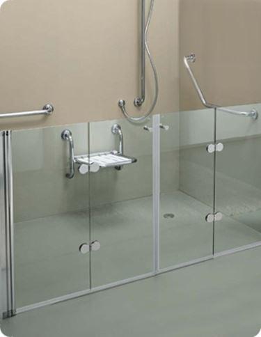 come installare box doccia per disabili - Il Bagno - Doccia per i disabili