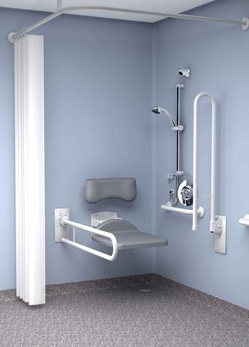 Come installare box doccia per disabili il bagno doccia per i disabili - Box doccia su vasca da bagno ...