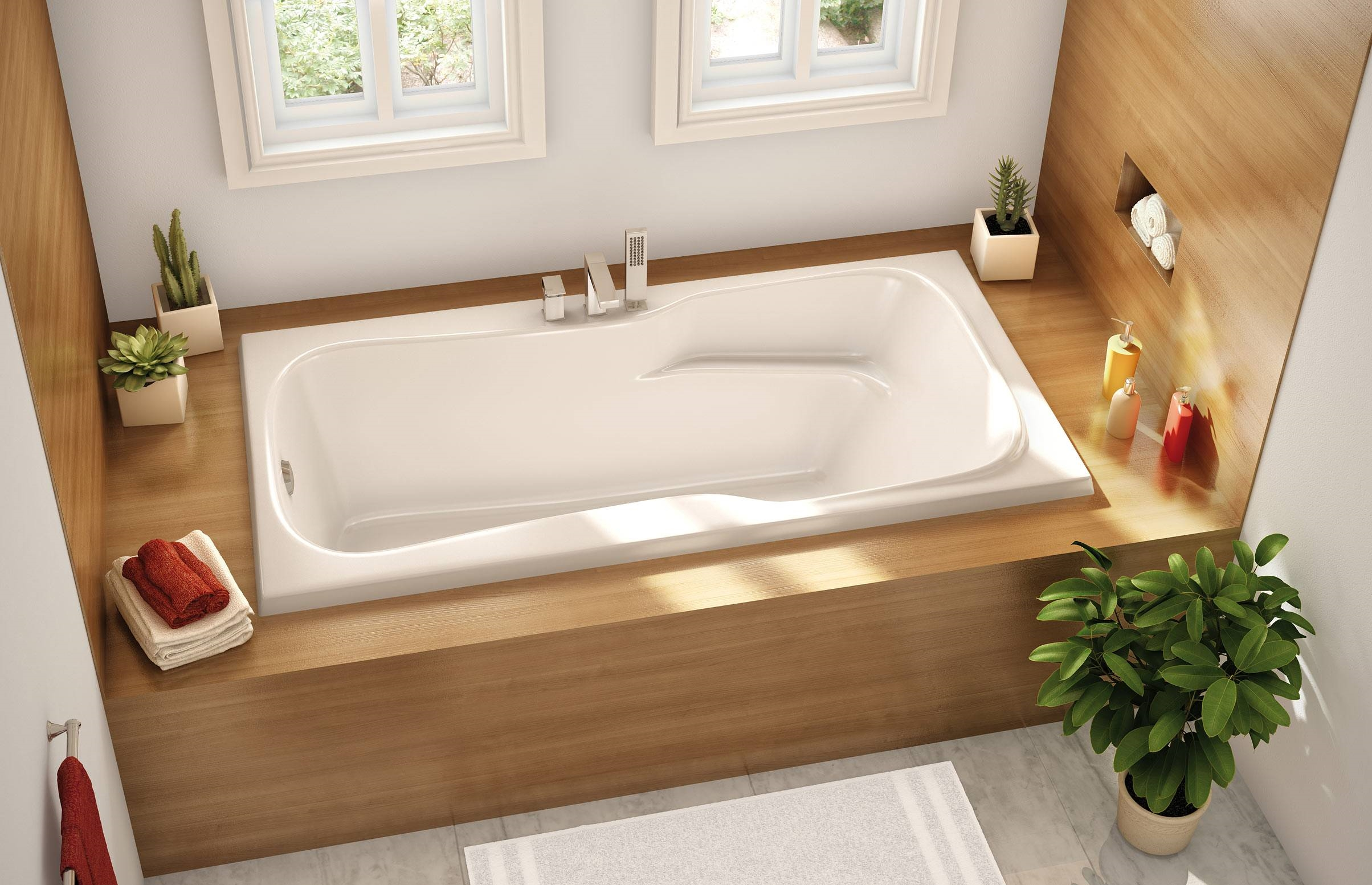 Vasca Da Bagno Ad Incasso Prezzi : Vasche da bagno incassate. le vasche possono essere installate in