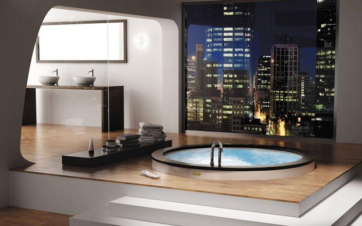 Una doccia di lusso moderna