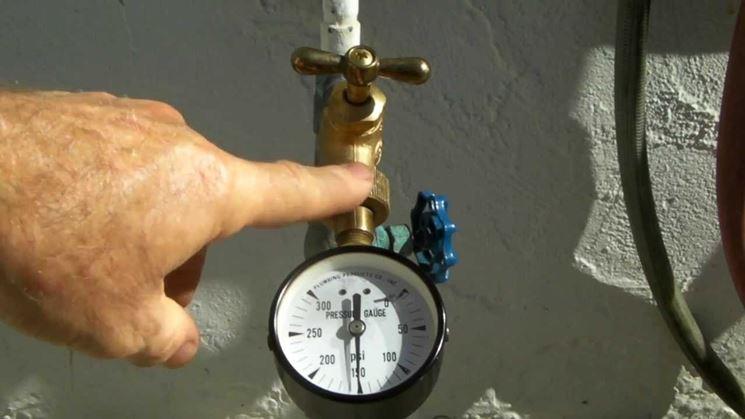 Una pressione troppo alta danneggia l'impianto