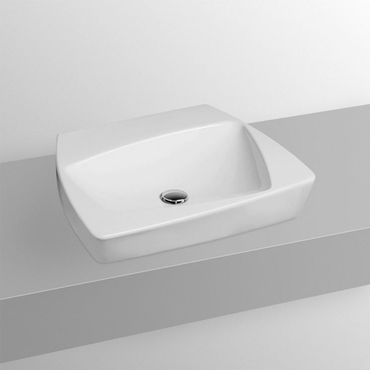 Modello lavabo da appoggio classico