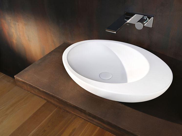 Modelli di lavabo da appoggio il bagno caratteristiche for Lavabo da appoggio misure
