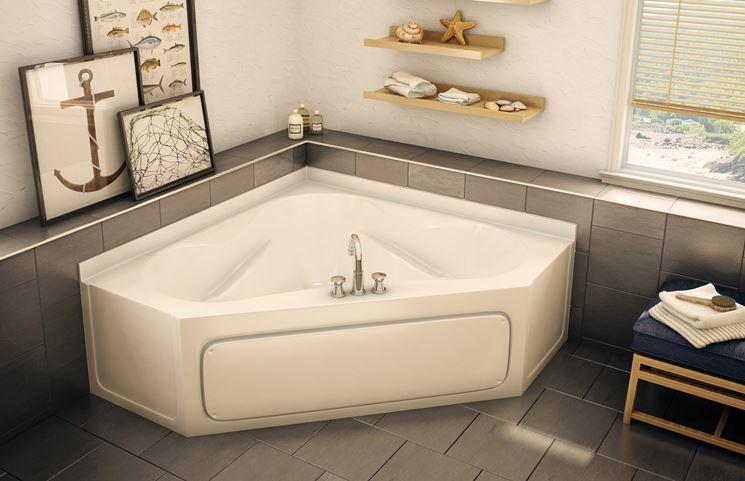 Vasca Da Bagno Triangolare : Modelli di vasche angolari il bagno vasche da bagno angolari