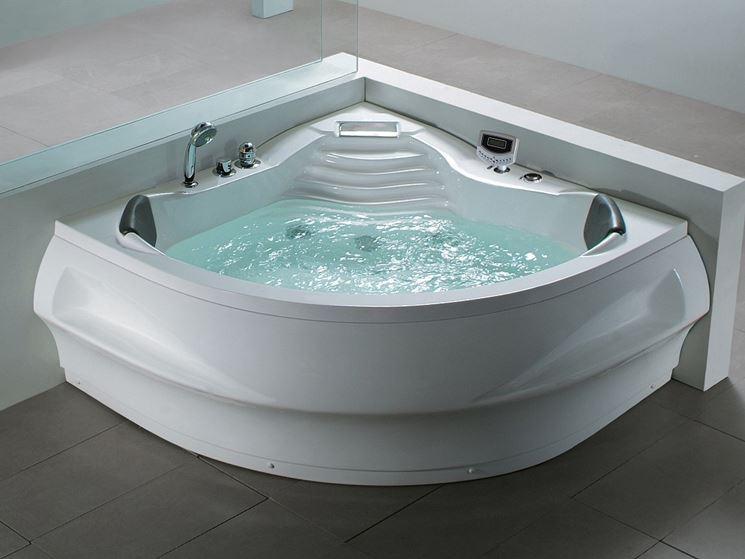 Modelli di vasche angolari   il bagno   vasche da bagno angolari