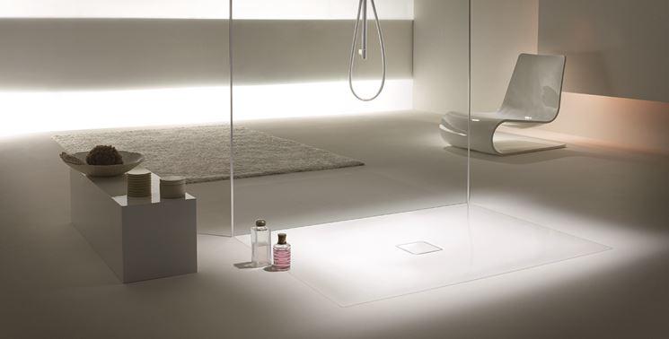 Piatti doccia filo pavimento il bagno piatti doccia raso terra - Doccia a filo pavimento ...
