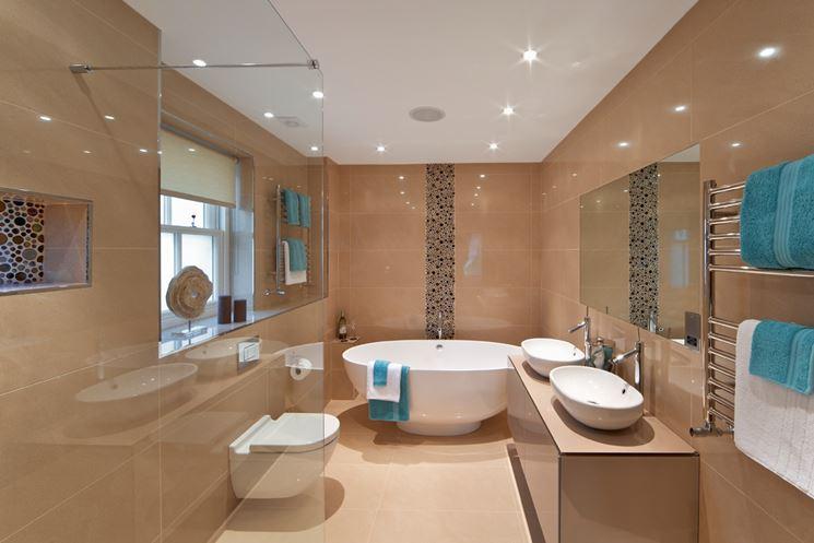bagni moderni con vasca. bagni moderni con il grigio modulnova ... - Bagni Moderni Con Vasca