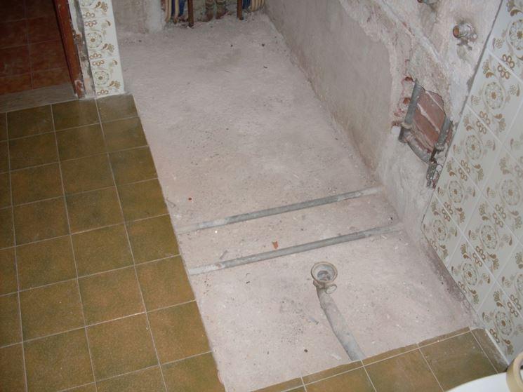 Intervento di sostituzione di una vasca da bagno