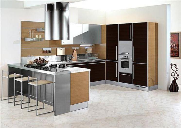 Caratteristiche cucina con penisola la cucina caratteristiche cucina penisola - Cucina angolare con penisola ...