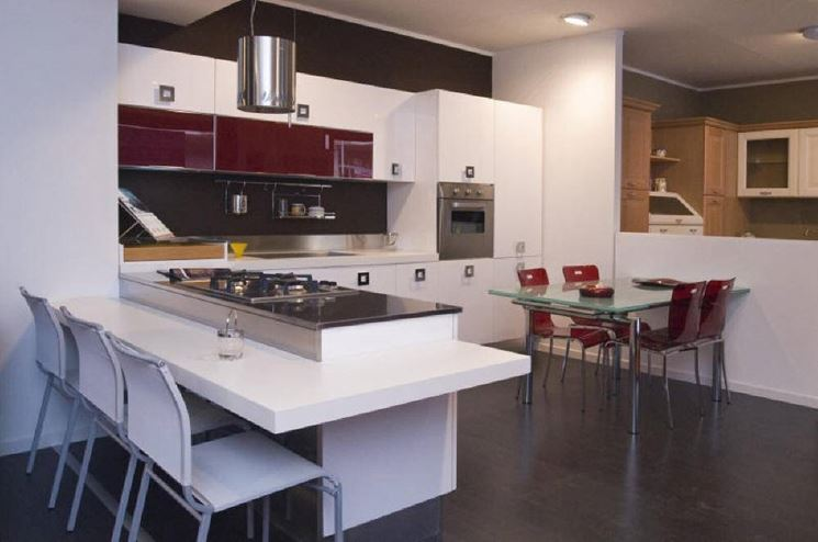 Tavolo Penisola Cucina Moderna Pictures to pin on Pinterest