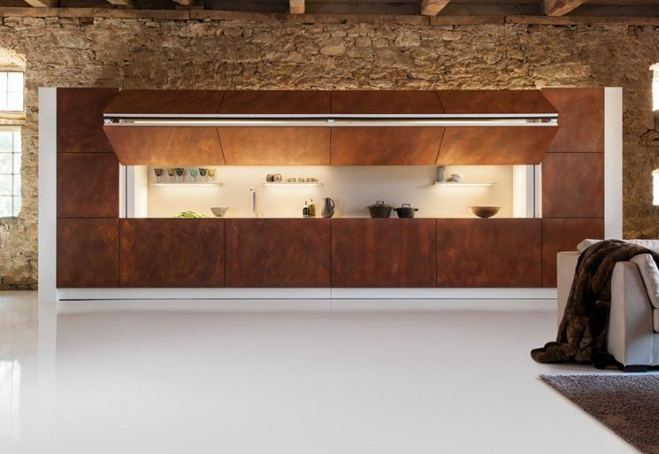Awesome Cucina A Scomparsa Gallery - Ideas & Design 2017 ...