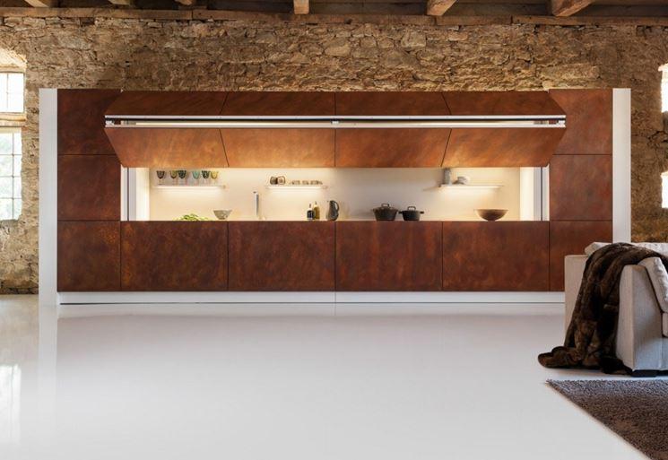Caratteristiche delle cucine a scomparsa - La cucina - Modelli cucina