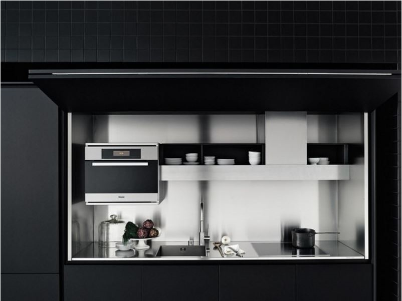 Caratteristiche delle cucine a scomparsa la cucina - Cucine armadio a scomparsa ...