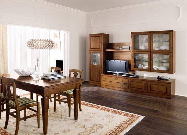 Caratteristiche delle cucine in arte povera la cucina for Arredamento casa classico