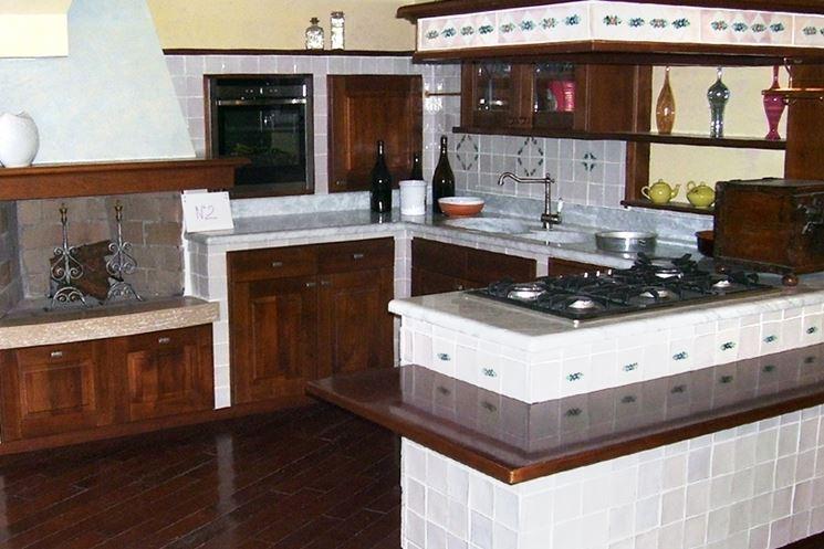 Caratteristiche delle cucine moderne la cucina cucine - Cucine a muratura moderne ...