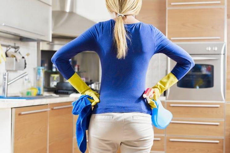 Prodotti di pulizia per la cucina