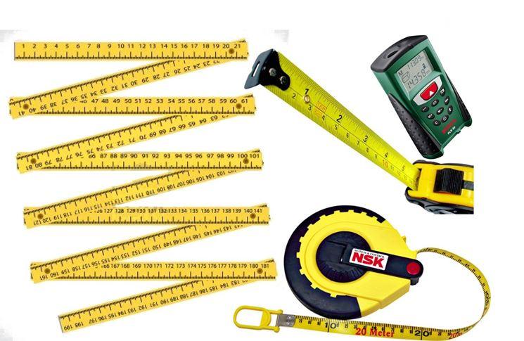 Gli strumenti per rilevare le misure