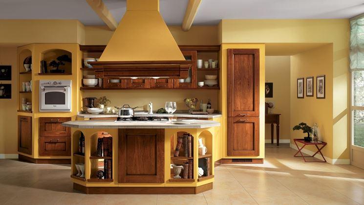 cucina gialla idee design moderno : Cucina in muratura fai da te - La cucina - Cucina in muratura