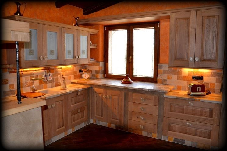 Top Cucina in muratura fai da te - La cucina - Cucina in muratura GQ46