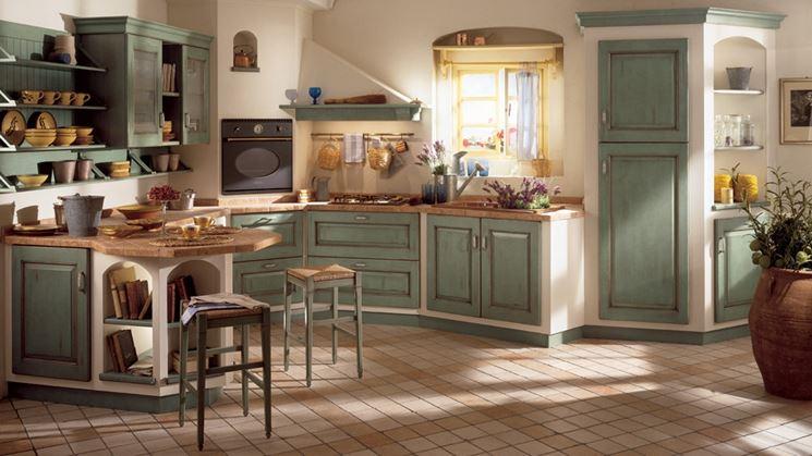 cucina in muratura belvedere Scavolini