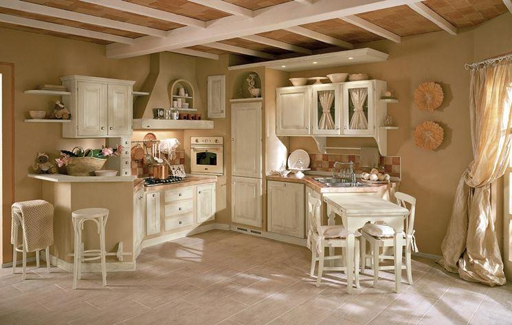 Cucina in muratura rustica la cucina cucina rustica - Cucina rustica in pietra ...