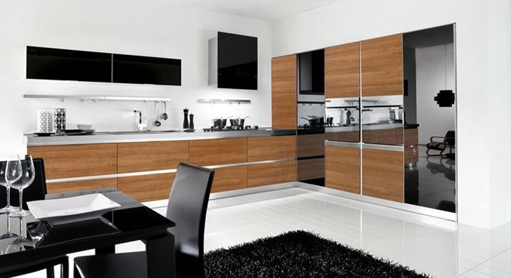 Cucina senza maniglie la cucina come funziona la cucina senza maniglie - Maniglie mobili cucina ...