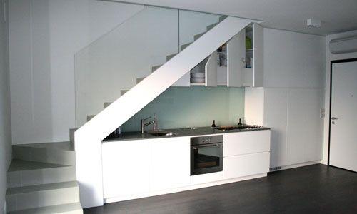 Cucina senza maniglie la cucina come funziona la - Cucina senza piastrelle ...